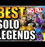 APEX LEGENDS BEST SOLO LEGENDS! | APEX LEGENDS TIER LIST