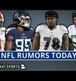 NFL Rumors & News Today: Orlando Brown Trade? Jadeveon Clowney Latest, Penei Sewell & Justin Fields?