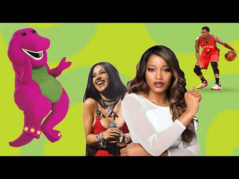 TOP 5 CELEBRITY STORIES FEAT. BARNEY THE DINOSAUR
