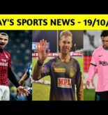 Sports News Today / Sports News 19th Oct. ft IPL, football, MI, Kings XI Punjab, KKR, SRH, Messi