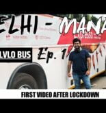 Delhi To Manali | Travelling By Volvo Bus After Lockdown | EP. 1 #TravellingHimachal #2020
