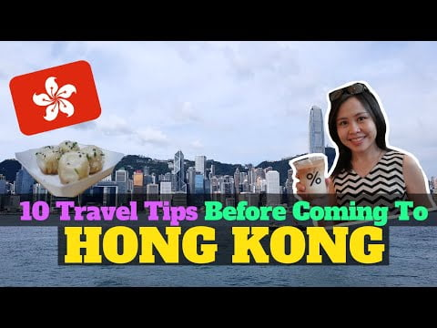 10 Things To Know Before Travelling To HONG KONG – Travel Tips & Hacks