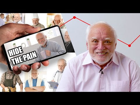 I Accidentally Became A Meme: Hide The Pain Harold