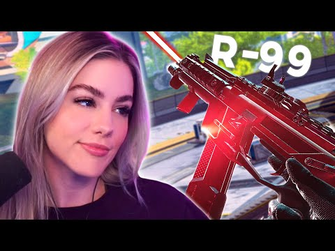 when your R-99 is a laser beam | Apex Legends