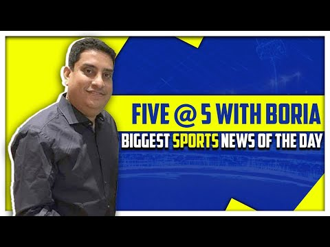 Biggest news from the world of Sports | Five @ 5 | Sports Today