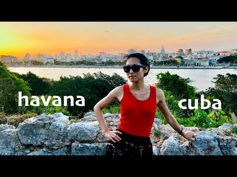 HAVANA CUBA Vacation Travel Vlog + Tips & Advice Guide! Top Things to Do & Beautiful Places to Visit