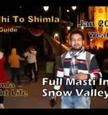 Shimla Lowest Budget Tour | Our First Vlog in Himachal | Full Travelling Guide | Best & Cheap Hotel