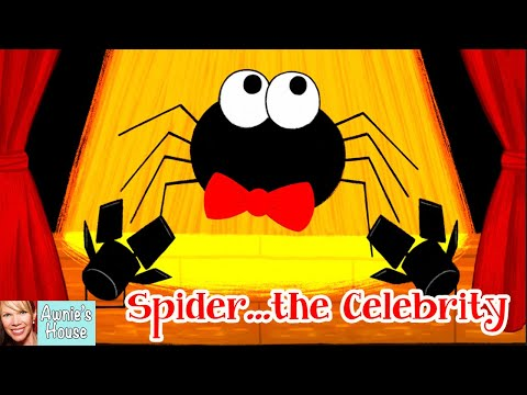 🕷️ Kids Book Read Aloud: SPIDER…THE CELEBRITY by S.D. Burke and Grace Ji