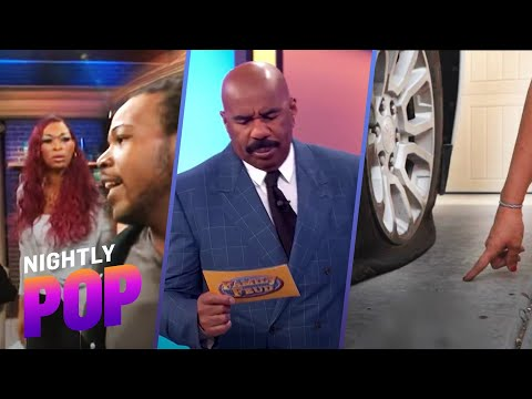 """Corn Chips and Booty?, Tire Slash Finger Fail & Butt Feud – """"Nightly Pop"""" 04/20/21   E! News"""