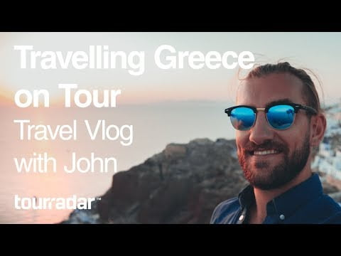 Travelling Greece on Tour: Travel Vlog with John