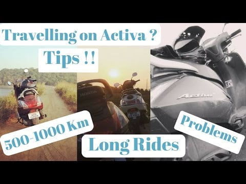 Travelling /Long Rides On Honda Activa | Tips And Tricks | Moto Treble |
