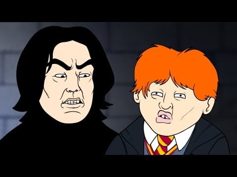 Wingardium Leviosa (Harry Potter Parody Animation) – Oney Cartoons