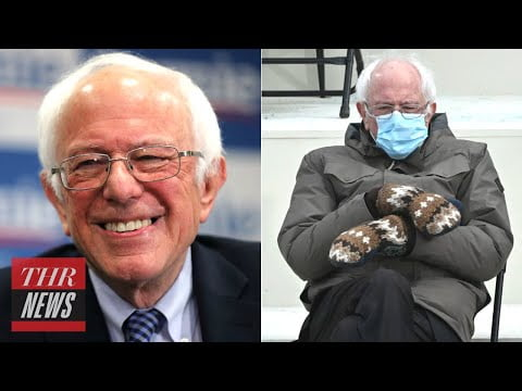 Bernie Sanders Had the Best Reaction to Becoming a Viral Meme | THR News