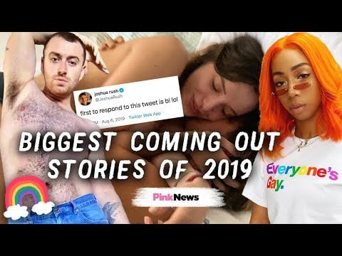 Biggest celebrity coming out stories of 2019