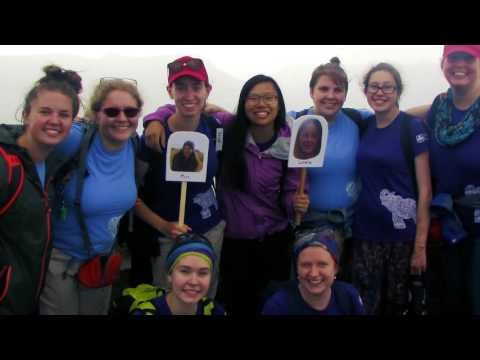 Girls talk about travelling to India with Girl Guides