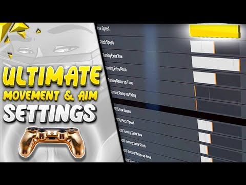 Ultimate Controller SETTINGS For MOVEMENT & AIM | Apex Legends