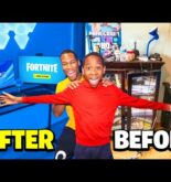 Transforming My Brother's Room Into His Dream Gaming Setup – $10,000