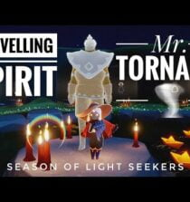 TRAVELLING SPIRIT – Mr. Tornado 🌪  | Season of Lightseekers | sky children of the light | Noob Mode