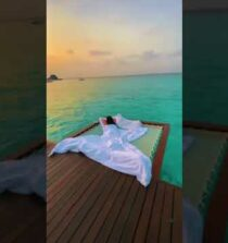Maldives vacation life #shorts #travel #amazing