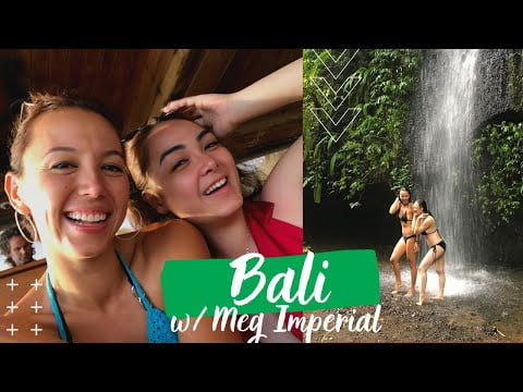 Best of Bali! What it's Like Travelling with Meg Imperial