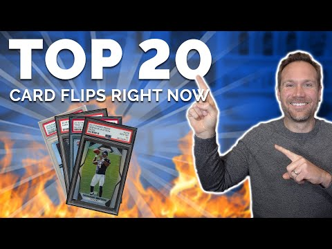 Top 20 Sports Card Flips Right NOW! 💥📈