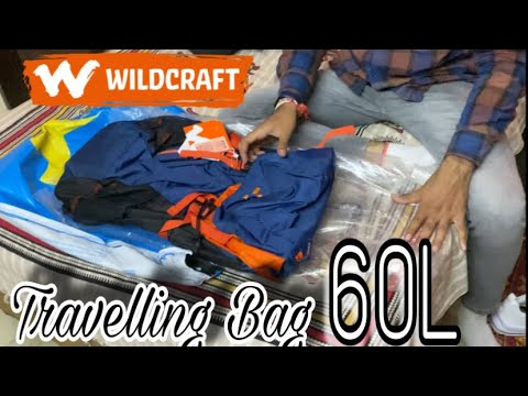 Best Travelling Bag || Wildcraft Flip Ruck 2 ( 60L ) || Best Riders Backpack