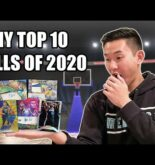 MY TOP 10 SPORTS CARD PULLS OF 2020!
