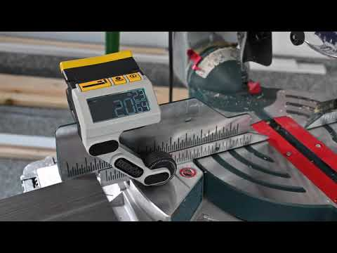 Cutting machine with measuring tool,grinder .M1 Caliber A Better Way to Measure