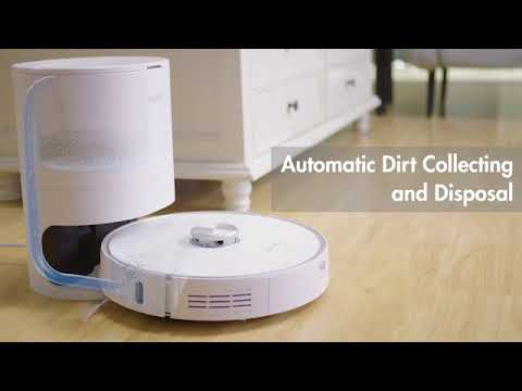 Neabot Robot Vacuum: Your Hands-free Vacuuming Emptying Dustbin|Hands-Free|Deep Clean for Carpet