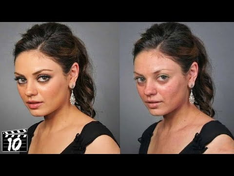 Top 10 Celebrities Who Look Different Without Makeup – Part 2