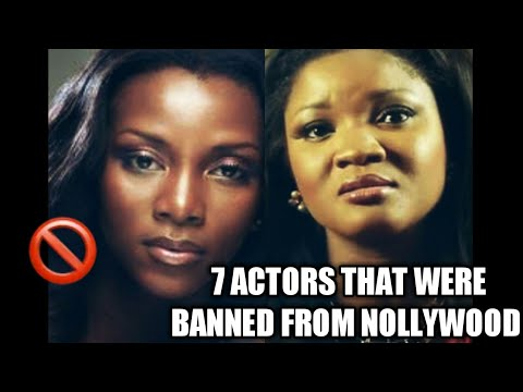 7 ACTORS THAT WERE BANNED FROM NOLLYWOOD I NIGERIAN CELEBRITY NEWS I NIGERIAN MOVIE INDUSTRY