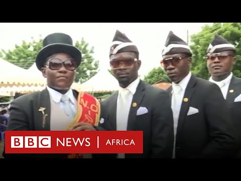 Ghana's dancing pallbearers: life after becoming THE meme of Covid-19 – BBC Africa