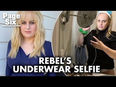 Rebel Wilson gets ready for bed with underwear selfie | Page Six Celebrity News