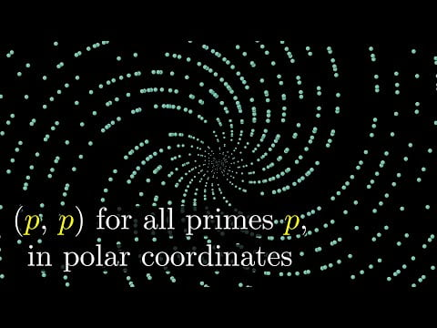 Why do prime numbers make these spirals? | Dirichlet's theorem