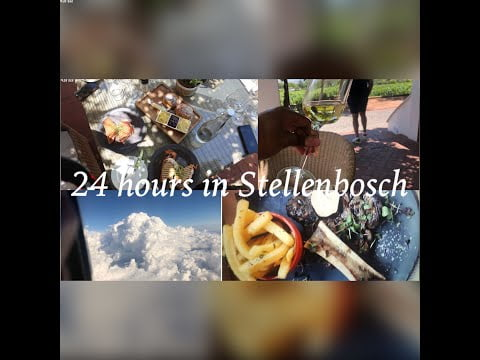 Back To WC| Travelling with restrictions| 24 Hours in Stellenbosch