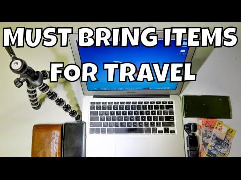 8 Items I MUST bring when travelling abroad | YZ's Travel Guides
