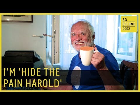 Who Is Hide The Pain Harold – the Internet's most famous meme?