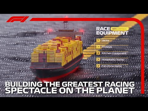 Building the greatest racing spectacle on the planet | DHL & F1