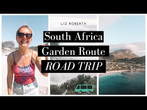 Travelling South Africa // Best of the Garden Route ROAD TRIP WITH DJI DRONE  🚁