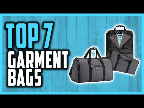 Top 7 Best Garment Bag Reviews In 2021 | Stay Stylish While Travelling