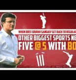 Sports News | Sourav Ganguly will resume work soon? | Five @ 5 | Sports Today