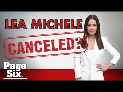 Can Lea Michele's 'mean girl' behavior be forgiven? | Page Six Celebrity News