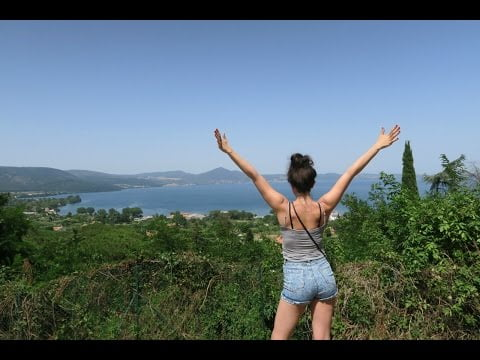 Travelling by Train In Italy Important Info · Lake Bracciano · Best Food In Rome