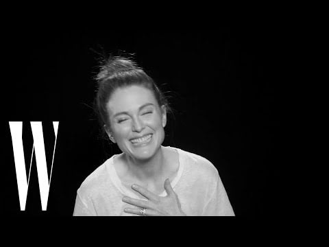 Julianne Moore on Her Favorite Love Story and Biggest Celebrity Crushes | Screen Tests | W Magazine