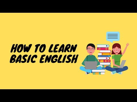 How to learn basic English | Dm70