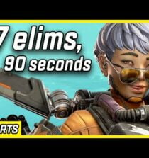 7 Elims In 90 Seconds With Valkyrie – Apex Legends Season 9 #shorts