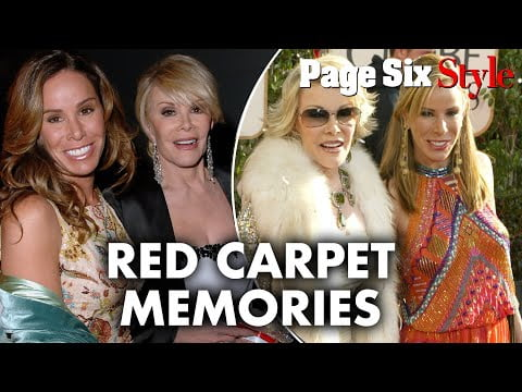 Joan Rivers and Melissa Rivers Red Carpet Looks | Page Six Celebrity News