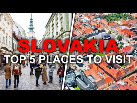 Top 5 Beautiful places in Slovakia – You'll Never Believe This travel Slovakia Fact