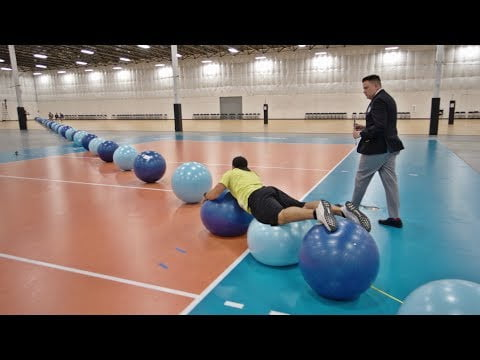 World Record Exercise Ball Surfing   OT 6