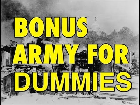 The Bonus Army Explained: US History Review
